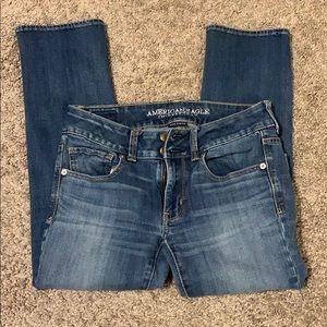 Cropped jeans/capris